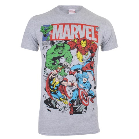 Marvel Men's Breakout T-Shirt - Sports Grey
