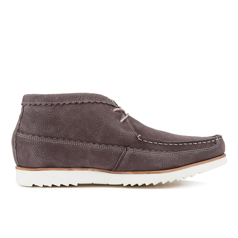 Genuine Moccasins by Grenson Men's Suede Chukka Boots - Brown