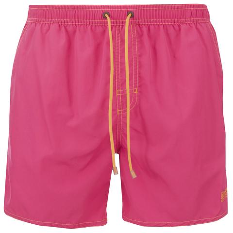 BOSS Hugo Boss Men's Lobster Swim Shorts - Pink