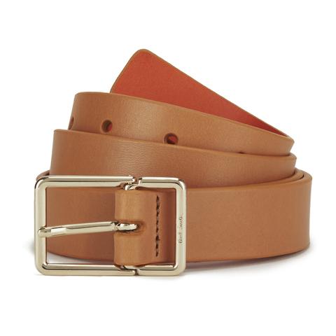 Paul Smith Accessories Women's Leather Contrast Belt - Orange