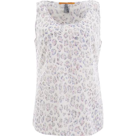 BOSS Orange Women's ETop Print Vest Top - Multi