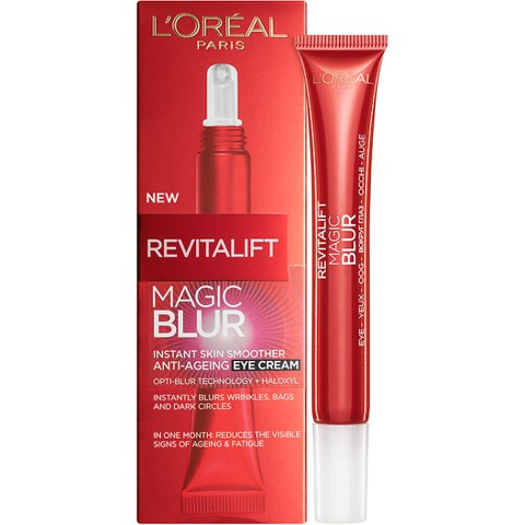 L'Oreal Paris Revitalift Magic Blur Instant Skin Smoother Anti-Ageing Eye Cream 15ml