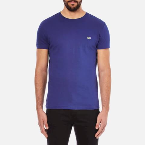 Lacoste Men's Short Sleeve Crew Neck T-Shirt - Ocean