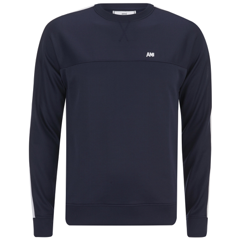 AMI Men's Crew Neck Sweatshirt - Navy