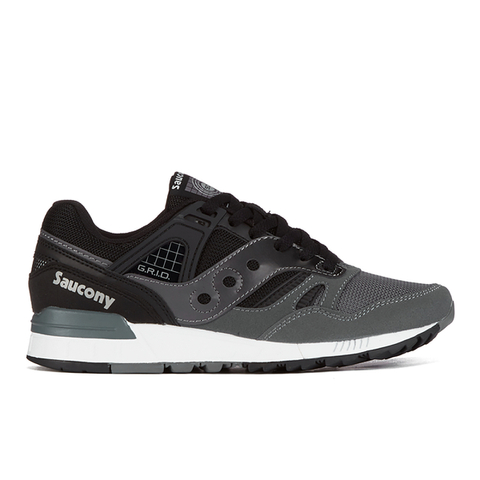Saucony Men's Grid SD Trainers - Black/Grey