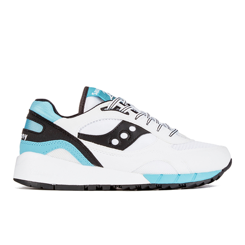 Saucony Shadow 6000 Trainers - White/Black