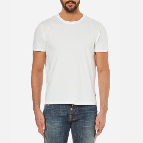 Nudie Jeans Men's O Neck T-Shirt - Off White