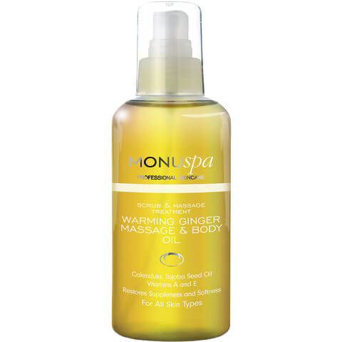 MONUspa Warming Ginger Body Oil 100ml