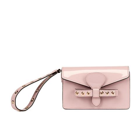 REDValentino Women's Wristlet Clutch Bag - Light Pink