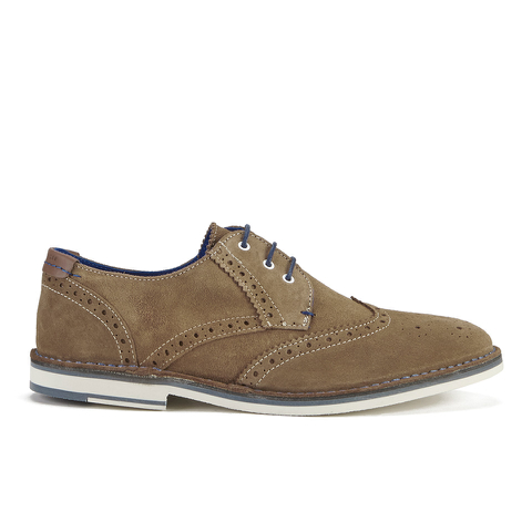Ted Baker Men's Jamfro 7 Suede Brogues - Tan