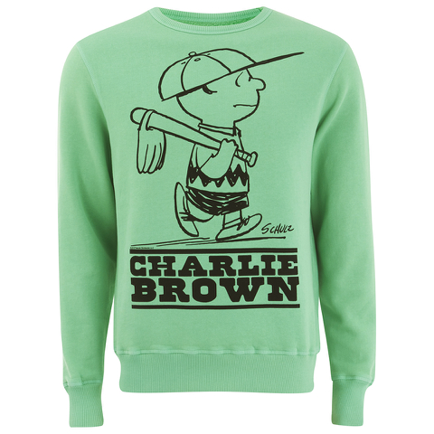 TSPTR Men's Charlie Brown Crew Neck Sweatshirt - Green