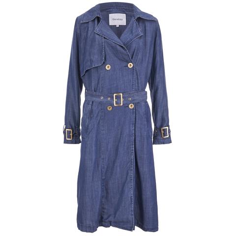 Gestuz Women's Kendall Coat - Denim