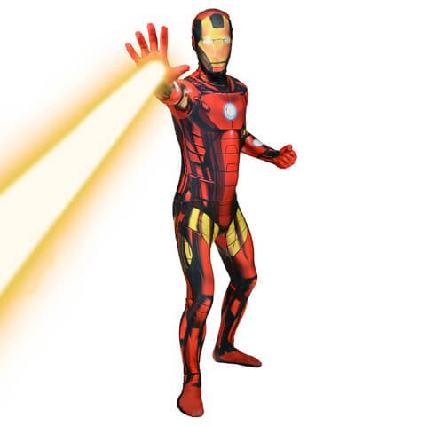 Morphsuit Adults' Deluxe Zapper Marvel Iron Man
