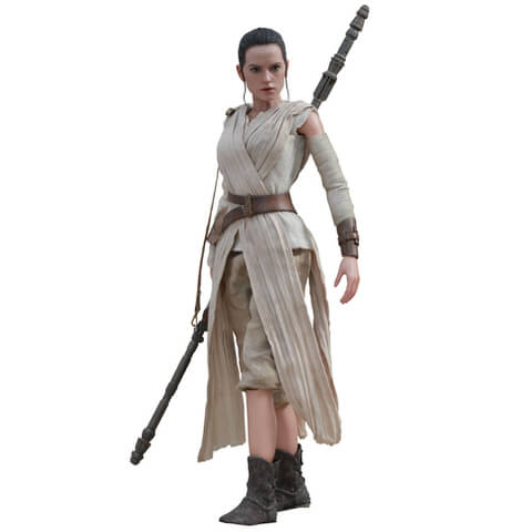 Hot Toys Star Wars The Force Awakens Rey 11 inch Figure