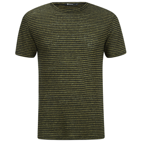 T by Alexander Wang Men's Short Sleeve T-Shirt - Black