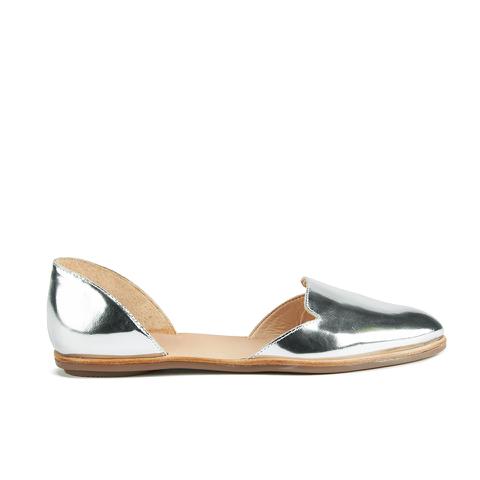 Loeffler Randall Women's Prue Pointed Flats - Silver
