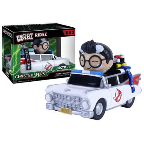 Ghostbusters Dr. Egon Spengler with Ecto-1 Dorbz Vinyl