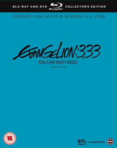 Evangelion 3.33 You Can (Not) Redo - Collector's Edition Combo Pack
