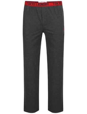 Tokyo Laundry Men's Danville Jersey Lounge Pants - Charcoal Marl