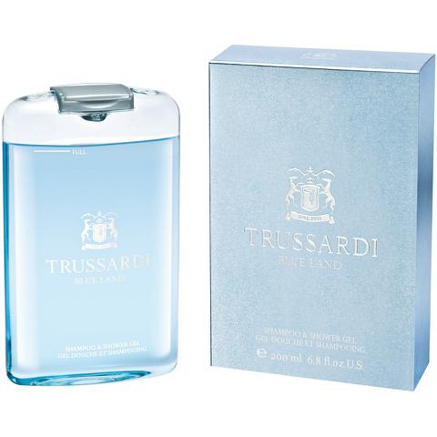 Trussardi Blue Land Shampoo and Shower Gel (200ml)