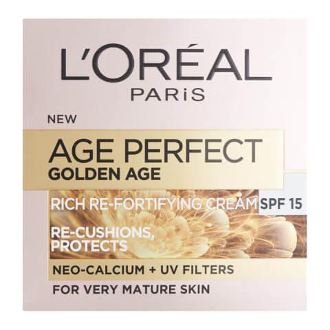 L'Oréal Paris Age Perfect Golden Age, Soin de Jour Fortifiant SPF15 (50ml)