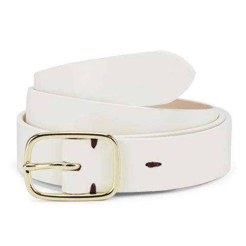 Paul Smith Accessories Women's Classic Belt - White