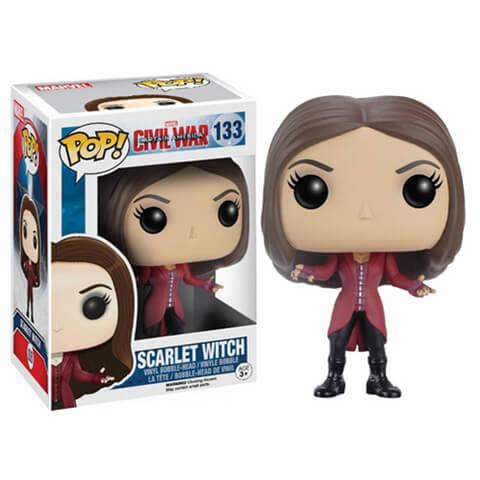 Marvel Captain America Civil War Scarlet Witch Wackelkopf Funko Pop! Vinyl Figur