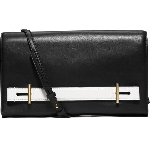MICHAEL MICHAEL KORS Women's Chelsey Clutch Bag - Black/White