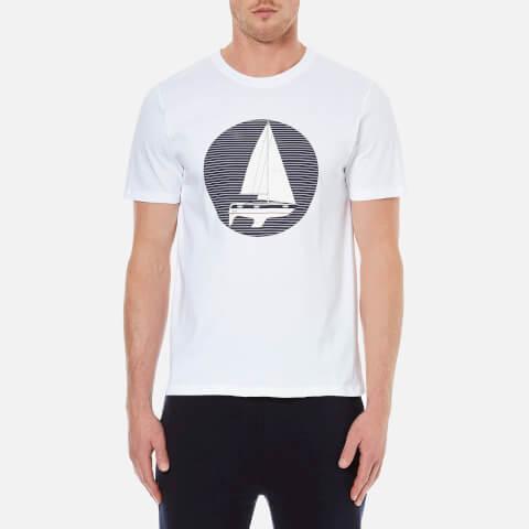 A.P.C. Men's Voller Printed T-Shirt - White