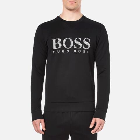 BOSS Green Men's Salbo Sweatshirt - Black