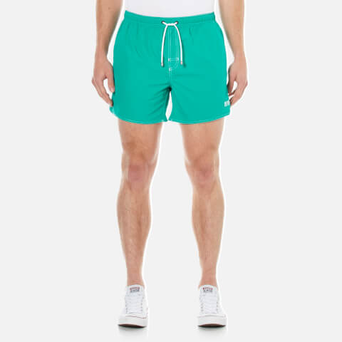 BOSS Hugo Boss Men's Lobster Swim Shorts - Green