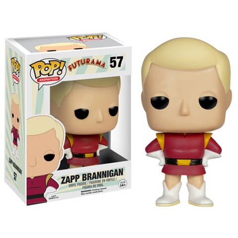 Futurama Zapp Brannigan Pop! Vinyl Figure