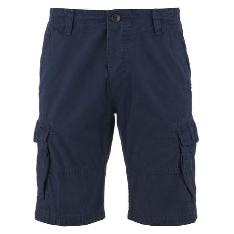 Threadbare Men's Hulk Cargo Shorts - Deep Blue
