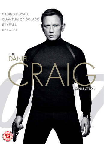 James Bond - Daniel Craig 4-Pack