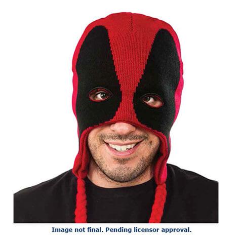 Marvel Deadpool Fleece Laplander Hat