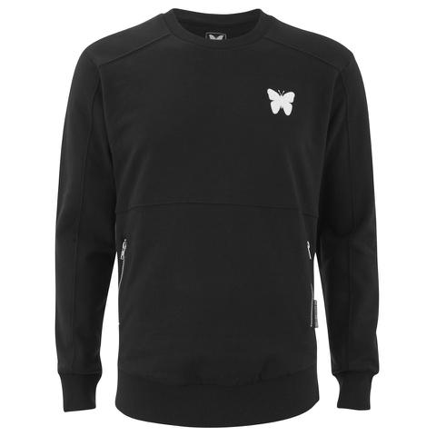 Good For Nothing Men's Gatekeeper Crew Neck Sweatshirt - Black