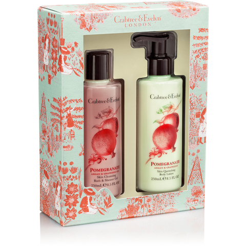 Crabtree & Evelyn Pomegranate, Argan & Grapeseed Duo