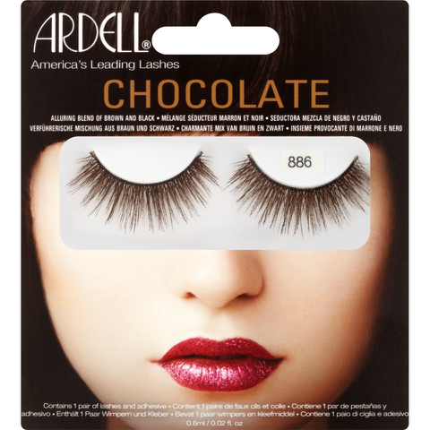 Ardell 886 Lashes - Chocolate Black Brown