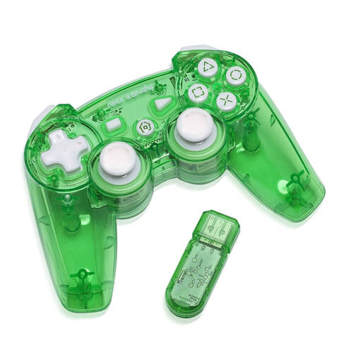 Rock Candy Wireless Playstation 3 Controller - Green