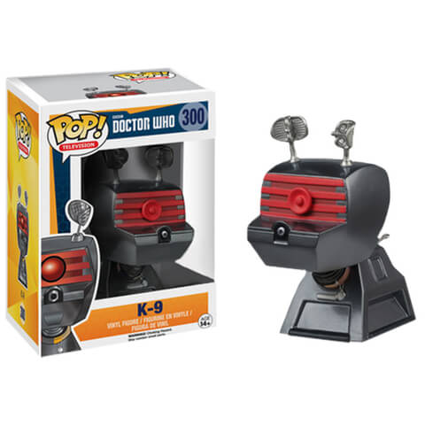 Doctor Who K-9 Funko Pop! Figuur