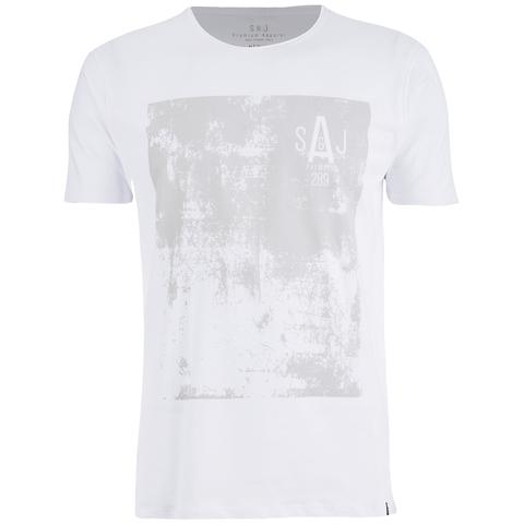 Smith & Jones Men's Diazoma Print T-Shirt - White