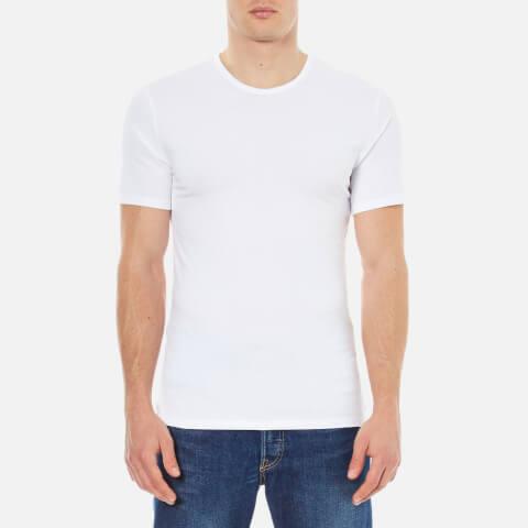 Calvin Klein Men's 2 Pack Crew Neck T-Shirt - White