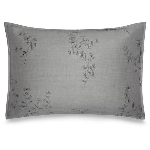 Calvin Klein Acacia Printed Pillowcase - Grey