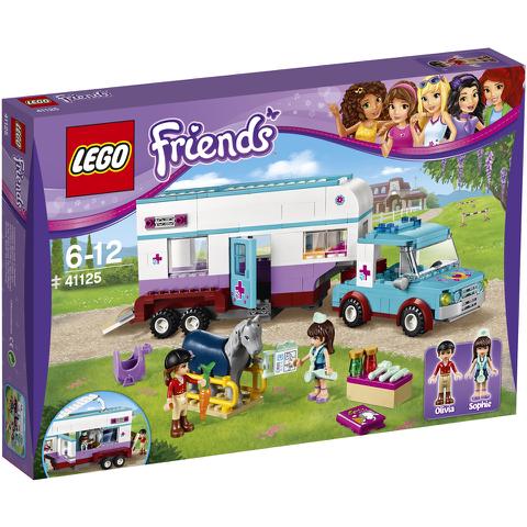 LEGO Friends: Pferdeanhänger und Tierärztin(41125)
