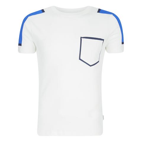 Jack & Jones Men's Core Block T-Shirt - White