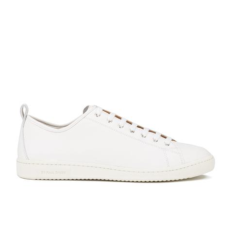 PS by Paul Smith Men's Miyata Leather Trainers - White Seta Calf