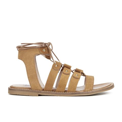 Dune Women's Lorelli Suede Gladiator Sandals - Tan