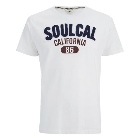 Soul Cal Men's Logo T-Shirt - Optic White