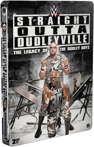 WWE: Straight Outta Dudleyville - The Legacy Of The Dudley Boyz (Limited Edition Steelbook)