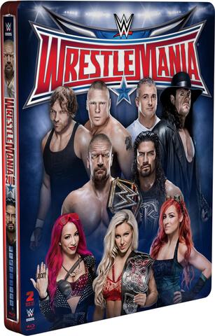 WWE: Wrestlemania 32 - Limited Edition Steelbook